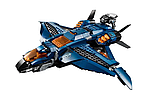 """Конструктор Bela 11261 Super Heroes """"Модернизированный квинджет Мстителей"""", 872 деталей., фото 4"""