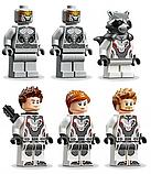 """Конструктор Bela 11261 Super Heroes """"Модернизированный квинджет Мстителей"""", 872 деталей., фото 7"""
