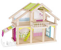 Кукольный домик 2 этажа с внутренним двором, Susibelle, Goki