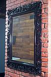 Зеркало настенное в резной деревянной раме черного цвета  Z-04, фото 2