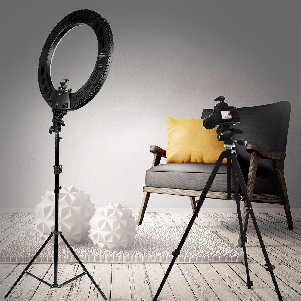 """Кольцевая лампа для профессиональной съёмки LED Ring Light YQ-480B (46см ),  со штативом 2 метра.+зеркало.: продажа, цена в Запорожье. подсветка и  вспышка для селфи от """"MyCase"""" - 1156986363"""