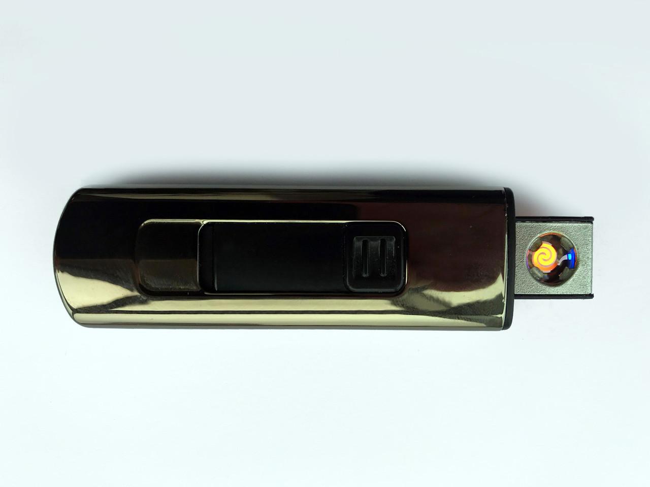 Электроимпульсная USB зажигалка VOLRO Z3 Graphite (vol-36)