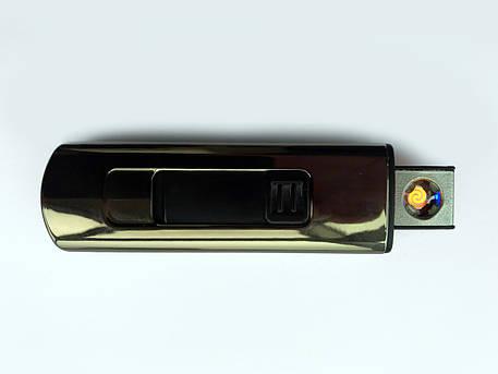 Электроимпульсная USB зажигалка VOLRO Z3 Graphite (vol-36), фото 2
