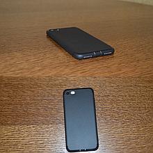 Чехол для iPhone 6+/7+/8+ из ТПУ черный/красный