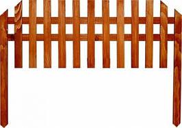 Секционный заборчик из дерева