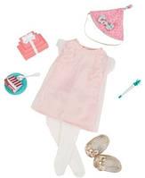 Набор одежды для кукол Deluxe День рождения, Our Generation