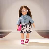 Набор с джинсовой курточкой, одежда для кукол, Lori