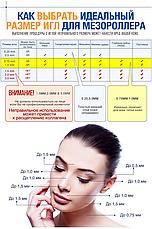 Мезороллер для лица AIW 100 Skin Roller System 540 игл длина иглы 1 мм Black (vol-56), фото 2