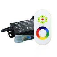 Контроллер RGB Neon 220B 1200W-RF5-N, фото 1