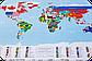 Скретч карта мира c флагами Discovery Map World FLAGS Edition ENG 68*48 см Яркая карта мира с флагами стран по, фото 9