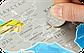 Скретч карта мира Discovery Map World UA  Туристическая рельефная скретч карта мира на украинском языке, фото 2