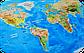 Скретч карта мира Discovery Map World UA  Туристическая рельефная скретч карта мира на украинском языке, фото 3