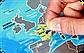 Скретч карта мира Discovery Map World UA  Туристическая рельефная скретч карта мира на украинском языке, фото 8