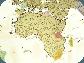 Скретч карта мира Discover & Scratch World Gold ENG Детальная скретч карта мира, фото 8