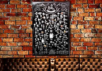 Скретч постер My Drink Poster ENG в тубусе