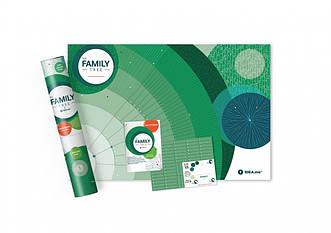 Интерактивный постер Родовое дерево Family Tree