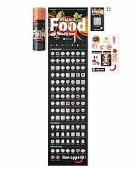 Скретч постер с блюдами #100ДЕЛ Food edition