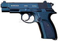 Пистолет стартовый Baredda (Kervan Arms) C95 Black