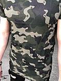 Мужская футболка M038 камуфляж, фото 2