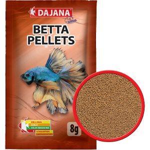 Dajana Betta Pellets 8 g гранулированный корм для петушка