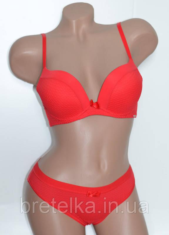 Комплект нижнего белья женский Balaloum Балалум 9365 красный