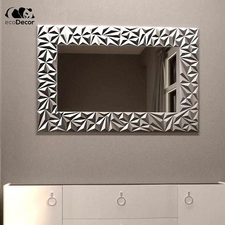 Дзеркало у ванну срібне Verona P1