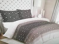 Комплект постельного белья двуспальный 180/210 см, нав-ки 70/70, ткань сатин, 100% состоит из хлопка