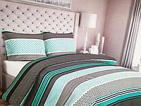 Комплект постельного белья евро размер 200/220, нав-ки 70/70 см, ткань сатин, 100% состоит из хлопка