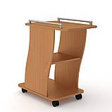Журнальный столик на колесиках Вена Компанит, журнальный столик узкий, фото 5