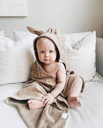 Новая коллекция нежнейших полотенец Elodie details для малышей уже доступна к заказу!