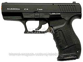 Пистолет стартовый Baredda C4 Black (Kervan Arms)