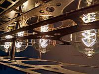 Люстры в стиле Лофт подвесные из металла, фото 1