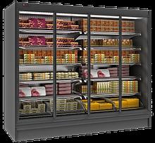 Пристенные холодильные регалы