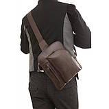 Кожаная сумка через плече Navara 7194C, фото 6