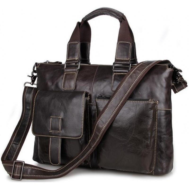 Шкіряна ділова сумка 7264J