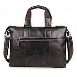 Шкіряна ділова сумка 7264J, фото 5