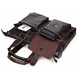 Шкіряна ділова сумка 7264J, фото 7