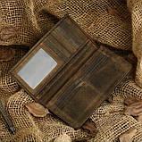Кошелек купюрник кожаный 8030R, фото 5