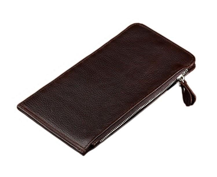 Шкіряний гаманець на змійці Atomy 8034C
