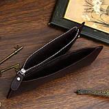 Шкіряний гаманець на змійці Atomy 8034C, фото 9
