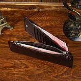 Шкіряний гаманець на змійці Atomy 8034C, фото 10