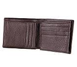 Мужской удобный кожаный кошелек 8055C, фото 4