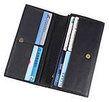 Зручний шкіряний гаманець-купюрница 8058A, фото 6