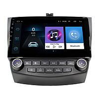 """Штатная автомобильная магнитола 10.1"""" Honda Accord 7th Gen (2004-2007 г.) климат контроль 1/16 Gb Android"""