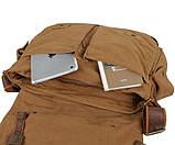 Кожаная мужская сумка кросс - боди 9009B, фото 7