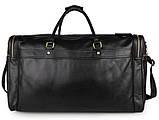 Вместительная удобная кожаная сумка  7317-1A, фото 3