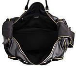 Вместительная удобная кожаная сумка  7317-1A, фото 7