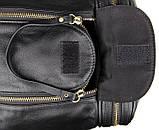 Вместительная удобная кожаная сумка  7317-1A, фото 10