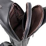 Кожаный рюкзак-сумка 4004A, фото 8