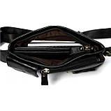 Кожаная черная сумка на пояс MR9080A, фото 10